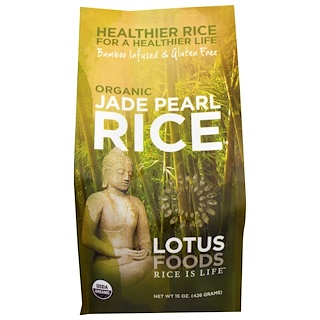 Lotus Foods, Arroz perla orgánico, 15 oz (426 g)