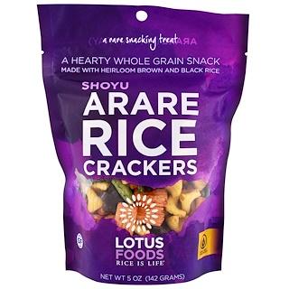 Lotus Foods, Arare رقائق أرز , Shoyu, 5 أونصة (142غ)