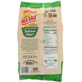 Late July, Organic Thin & Crispy Restaurant Style Tortilla Chips, Sea Salt, 11 oz (312 g)