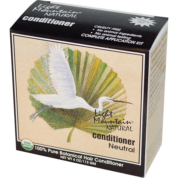 Light Mountain, Natural Conditioner, Neutral, 4 oz (113 g)