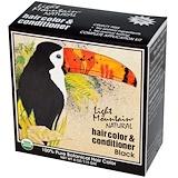 Отзывы о Light Mountain, Натуральное средство для окрашивания и ухода за волосами, Черный, 4 унции (113 г)