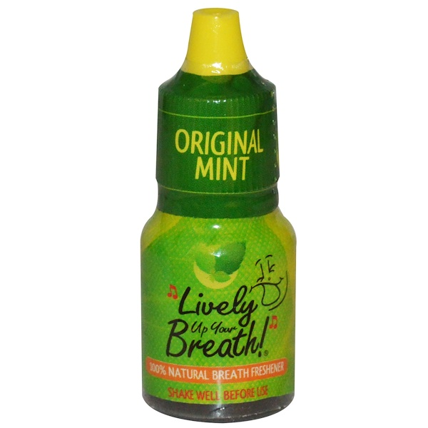 Lively Up Your Breath, Original Mint, .27 fl oz (8 ml) (Discontinued Item)