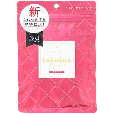 Купить Lululun Precious, Hydrate Aging Skin, Face Mask, 7 Sheets, 3.82 fl oz (113 ml)