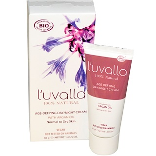 L'uvalla Certified Organic, Anti-Aging Tages-/Nachtcreme, 1,4 oz (40 g)