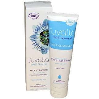 L'uvalla Certified Organic, Milk Cleanser, 3.4 oz (100 g)