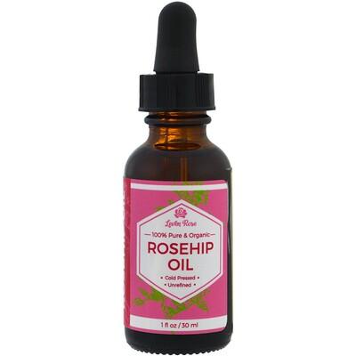 Купить Leven Rose На 100% чистое и органическое масло плодов шиповника, 1. жидк. унц. (30 мл)
