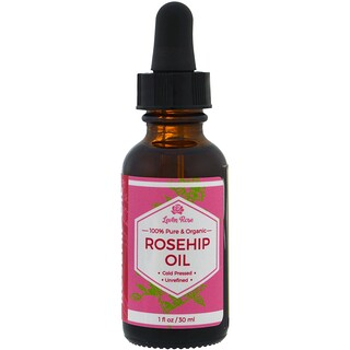 Leven Rose, 100% Pure & Organic Rosehip Oil, 1 fl oz (30 ml)