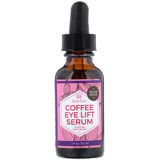 Leven Rose, Кофейная подтягивающая сыворотка для кожи вокруг глаз, 1 жидкая унция (30 мл)