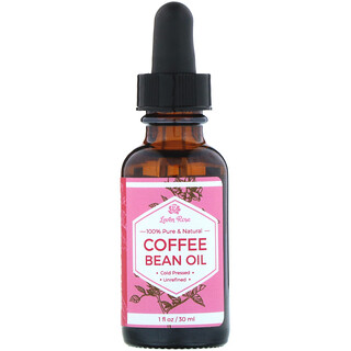 Leven Rose, 100% Pure & Natural, Coffee Bean Oil, 1 fl oz (30 ml)