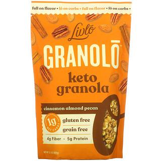 Livlo, Granolo, Keto Granola, Cinnamon Almond Pecan, 11 oz (309 g)