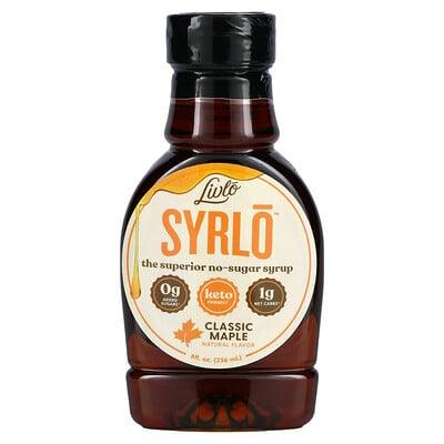 Livlo Syrlo, Classic Maple, 8 fl oz (236 ml)