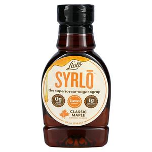 Livlo, Syrlo, Classic Maple, No-Sugar Syrup, 8 fl oz (236 ml)