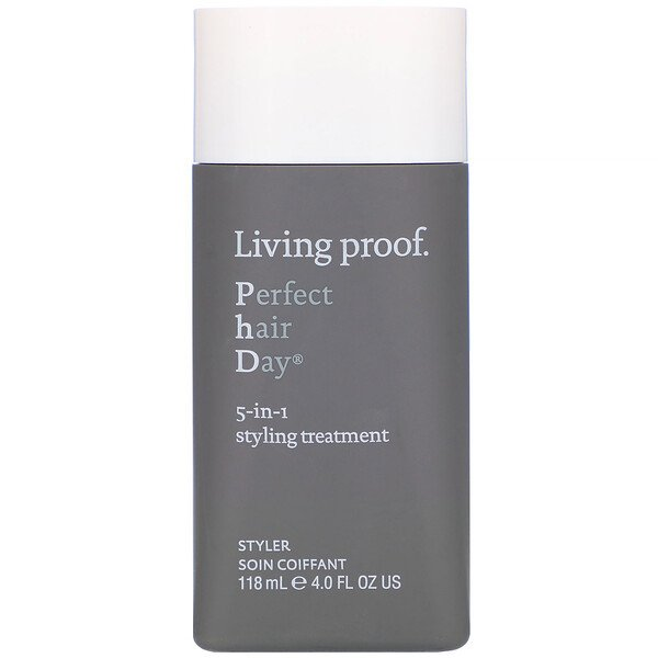 Living Proof, Perfect Hair Day, 5-in-1 Styling Treatment, 4 fl oz (118 ml)
