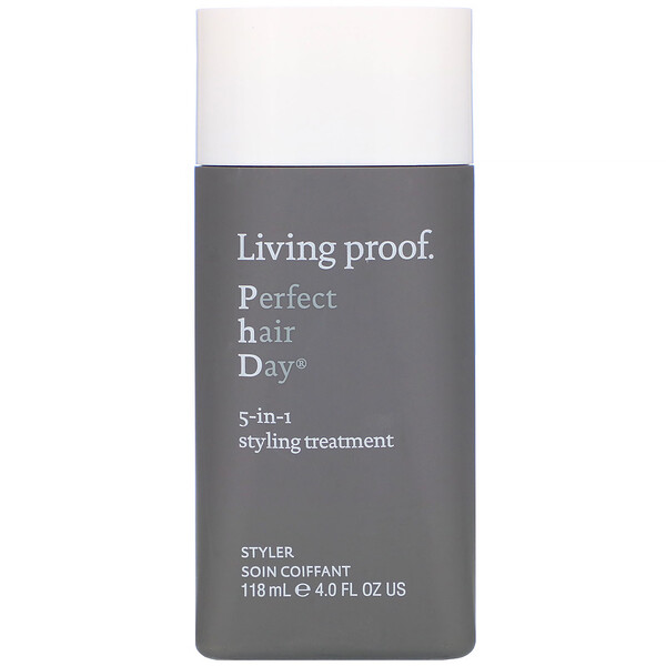 Living Proof, Perfect Hair Day, 5-in-1 Styling Treatment, 4 fl oz (118 ml) (Discontinued Item)