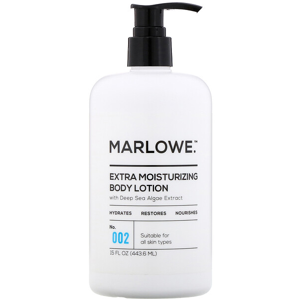 Extra Moisturizing Body Lotion, No. 002, 15 fl oz (443.6 ml)