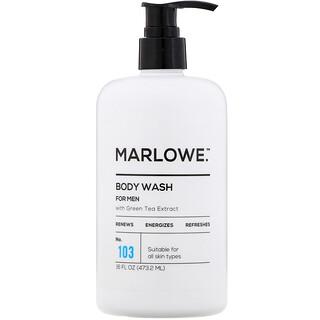 Marlowe, Men's Body Wash, No. 103, 16 fl oz (473.2 ml)