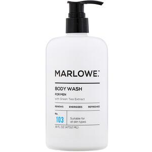 Marlowe, Men's Body Wash, No. 103, 16 fl oz (473.2 ml) отзывы