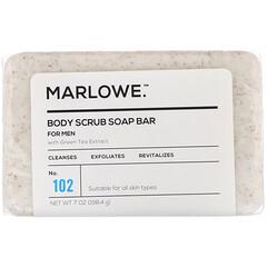 Marlowe, 男士身體磨砂皂,102 號,7 盎司(198.4 克)