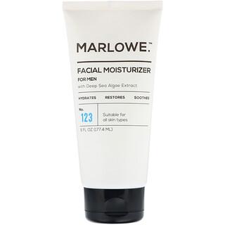 Marlowe, Men's Facial Moisturizer, No. 123, 6 fl oz (177.4 ml)
