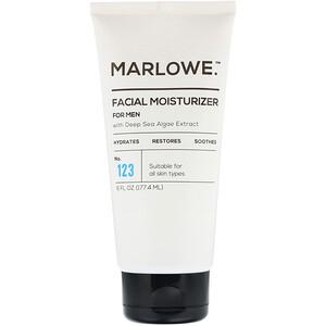 Marlowe, Men's Facial Moisturizer, No. 123, 6 fl oz (177.4 ml) отзывы