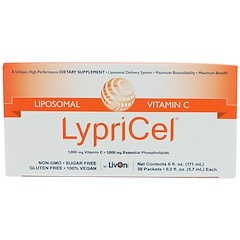 LypriCel, Liposomal Vitamin C, 30 Packets, 0.2 fl oz (5.7 ml) Each