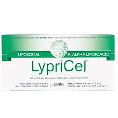 LypriCel, リポソームR-ALA、 30包、 各0.2液量オンス (5.7 ml)