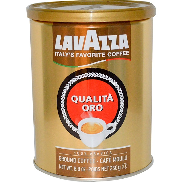LavAzza Premium Coffees, Qualità Oro, 挽きコーヒー豆, 8.8 oz (250 g)