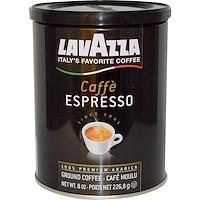 LavAzza Premium Coffees, 그라운드 커피, 카페 에스프레소, 8 온스 (226.8 g)