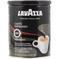 Молотый кофе, Средней обжарки, Эспрессо, 8 унц. (226,8 г) - фото