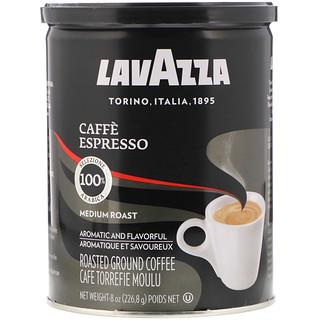 LavAzza Premium Coffees, Café molido, tostado medio, Caffè Espresso, 8 oz (226,8 g)
