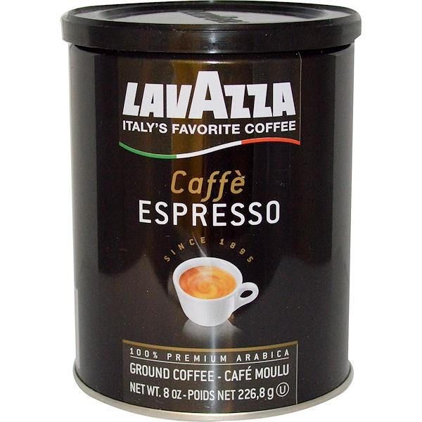 LavAzza Premium Coffees, Ground Coffee, Caffè Espresso, 8 oz (226.8 g)