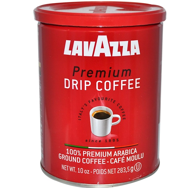 LavAzza Premium Coffees, Drip Coffee, 100% Premium Arabica Ground Coffee, 10 oz (283.5 g) (Discontinued Item)