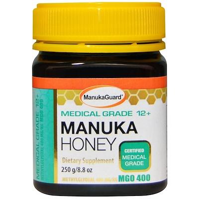 ManukaGuard 麥盧卡蜂蜜,醫療級12+,8.8盎司(250克)