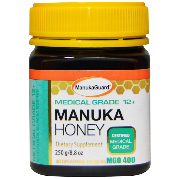 ManukaGuard, Manuka Honey, Medical Grade 12+, 8.8 oz (250 g)