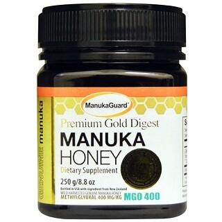 Manuka Guard, 프리미엄 골드 다이제스트, 마누카 꿀, 8.8oz(250g)