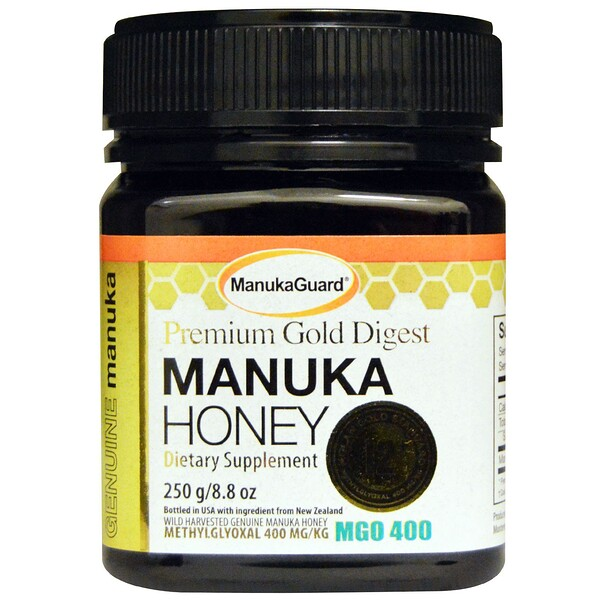 ManukaGuard, Premium Gold Digest, Manuka Honey, 8.8 oz (250 g) (Discontinued Item)