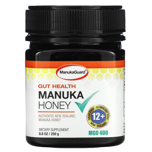 Manuka Guard, عسل المانوكا الذهبى الفاخر للهضم ٨.٨ أوقيه (٢٥٠ غرام )