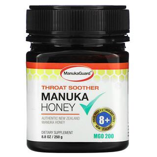 ManukaGuard, Throat Soother, Manuka Honey, 8.8 oz (250 g)