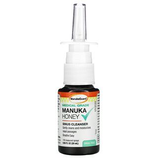 ManukaGuard, Medical Grade Manuka Honey, Sinus Cleanser, 0.65 fl oz ( 20 ml)