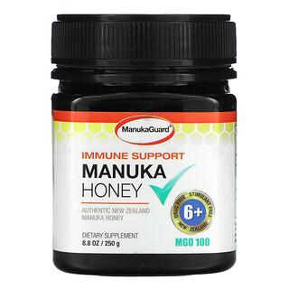 ManukaGuard, Immune Support, Manuka Honey, MGO 100, 8.8 oz ( 250 g)