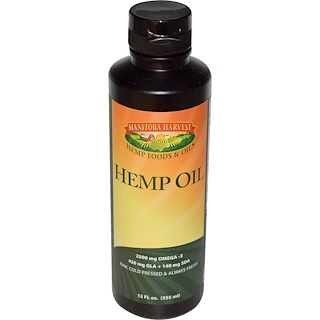 Manitoba Harvest, Hemp Oil, 12 fl oz (355 mL)
