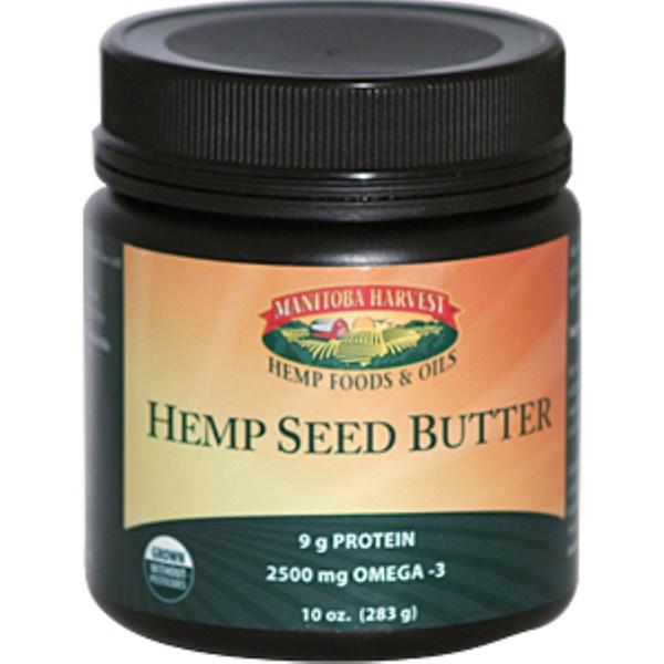 Manitoba Harvest, Hemp Seed Butter, 10 oz (283 g) (Discontinued Item)
