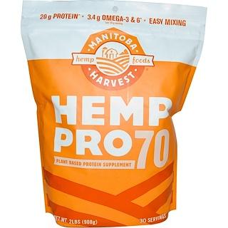 Manitoba Harvest, Cáñamo Pro 70, 455 g (1 lb)