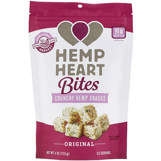 Manitoba Harvest, Hemp Heart Bites, Crunchy Hemp Snacks, Original, 4 oz (113 g)