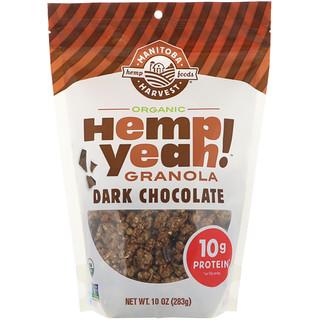 Manitoba Harvest, Hemp Yeah! Organic Granola, Dark Chocolate, 10 oz (283 g)