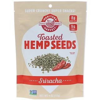 Manitoba Harvest, Toasted Hemp Seeds, Sriracha, 4 oz (113 g)