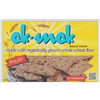 Ak-Mak, Хлебцы из цельнозерновой кунжутной муки, 4.15 унций (118 г)