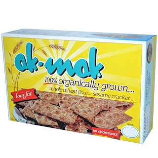 Ak-Mak, Whole Wheat Flour Sesame Cracker, 4.15 oz (118 g)