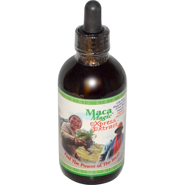 Maca Magic, Raw Maca Hypocotyl, Express Extract, 4 fl oz (120 ml) (Discontinued Item)
