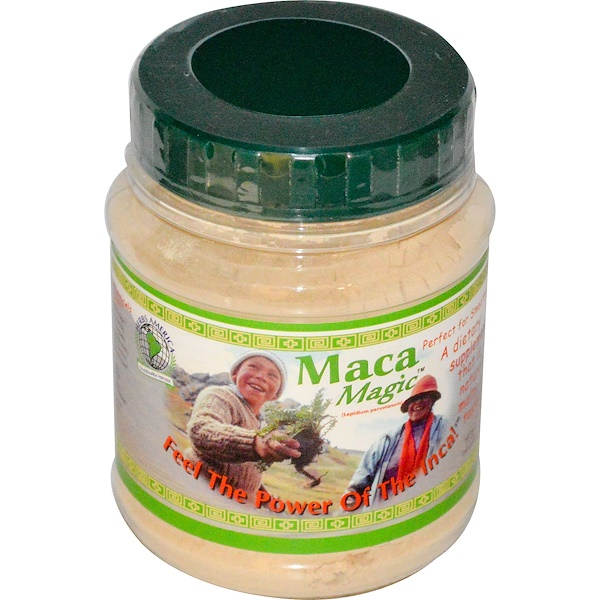 Maca Magic, Maca Magic (Lepidium Peruvianum), 7.1 oz (200 g) (Discontinued Item)